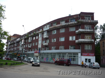 Дом-корабль, Иваново
