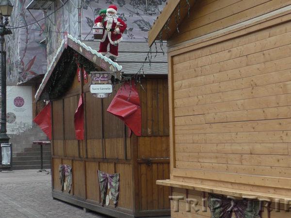 Закрытая рождественская ярмарка, Площадь Воссоединения, Мюлуз
