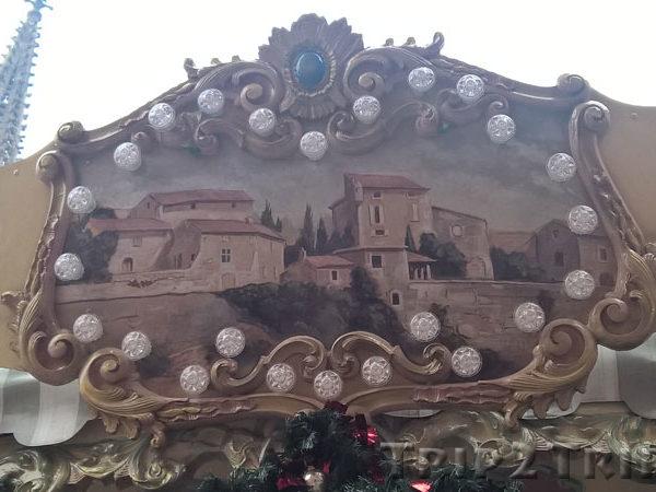 Карусель на рождественской ярмарке, Мюлуз