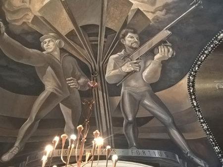 Советская роспись сводов Богоявленского собора, Тула