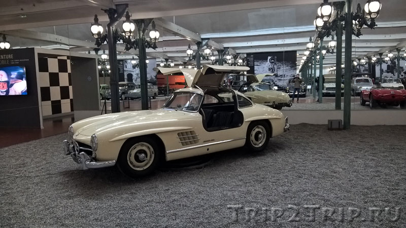 Mercedes-Benz 300SL, Музей ретроавтомобилей, Мюлуз
