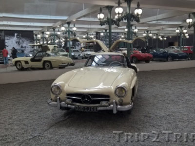 Mercedes-Benz 300SL, Музей ретроавтомобилей, Мюлуз
