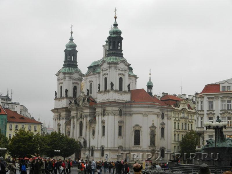 Церковь св. Микулаша, Староместская площадь, Прага