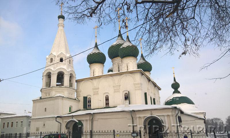 Фото церкви Николы Рубленого на Которосльной набережной Ярославля