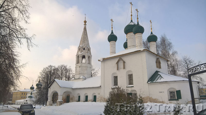 Церковь Николы Рубленого, Которосльная набережная, Ярославль