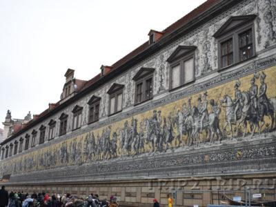"""Панно """"Шествие князей"""", Дрезден"""