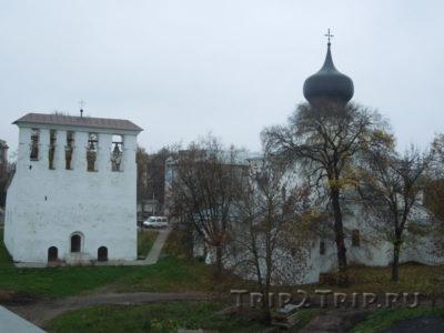 Церковь Успенья С Пароменья, Завеличье, Псков