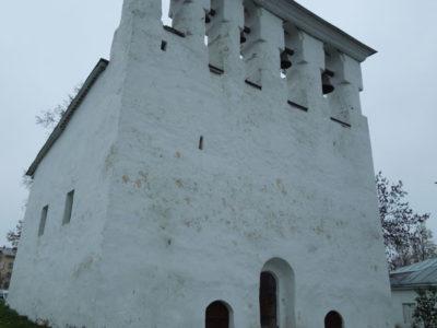 Звонница церкви Успения с Пароменья, Завеличье, Псков