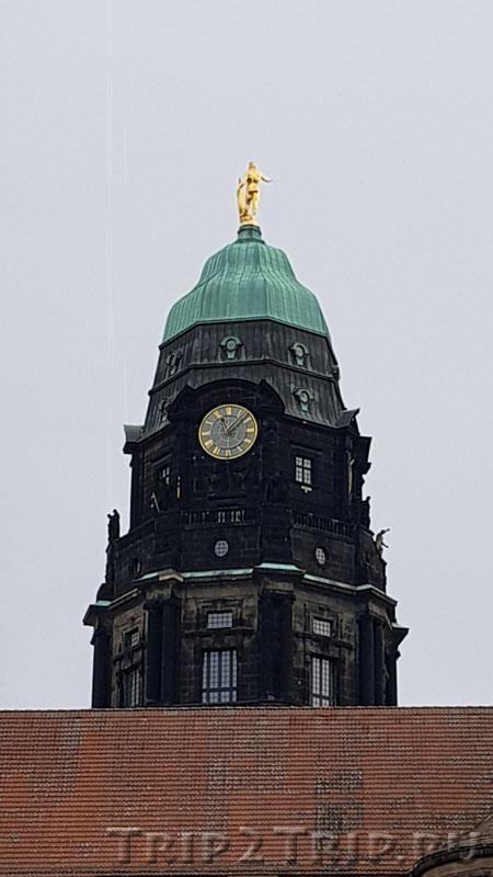 Башня Новой Ратуши, Дрезден