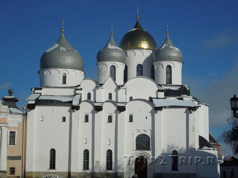 Софийский собор, новгородский Детинец