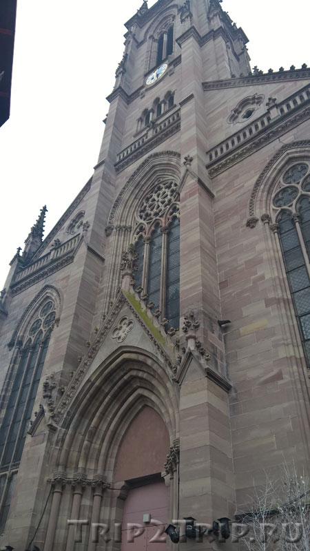 Церковь Сент-Этьен, Площадь Воссоединения, Мюлуз