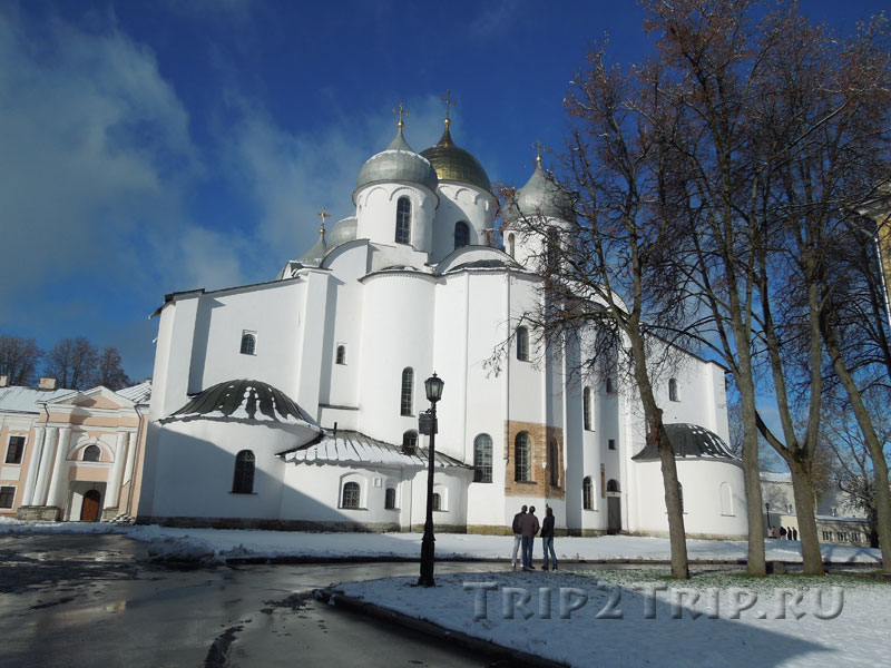 Софийский храм в новгородском кремле