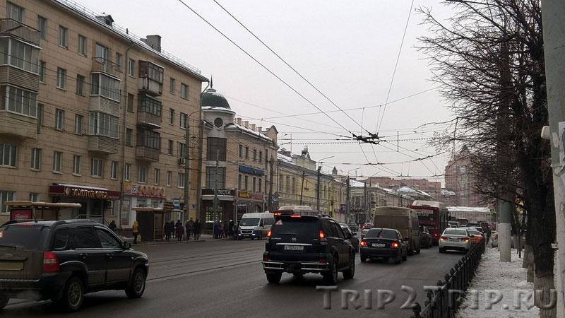 Советская (бывшая Посольская) улица в Туле