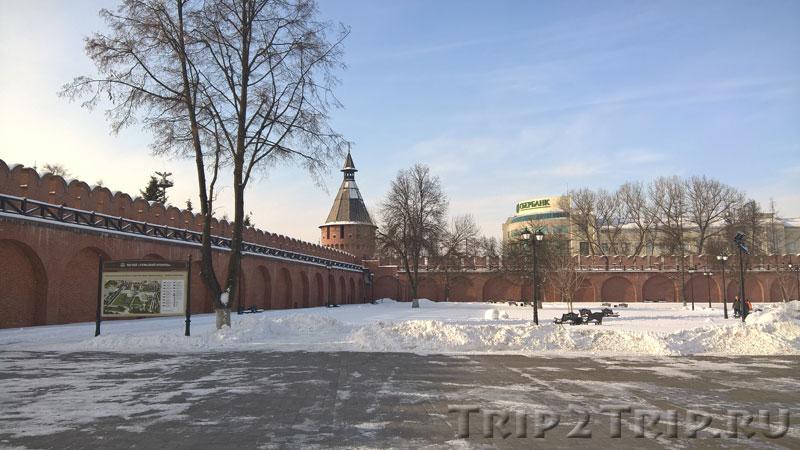 Спасская башня, Тульский кремль