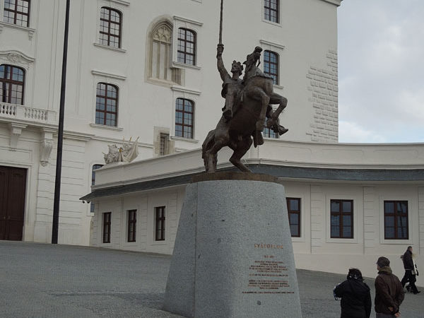 Святоплук, братиславский град