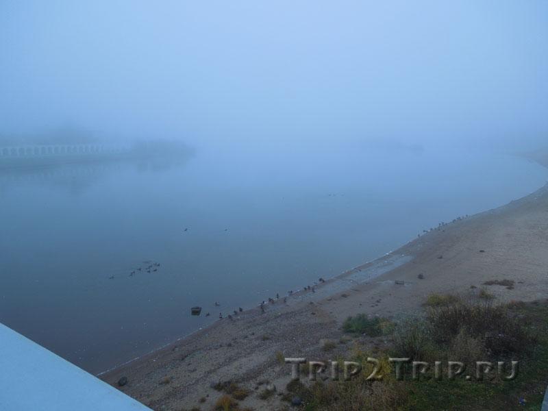 Река Волхов, Великий Новгород