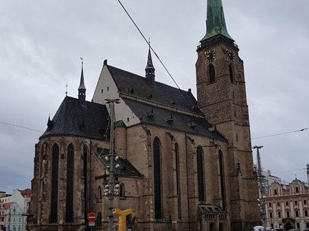 Собор Святого Варфоломея, Площадь Республики, Пльзень