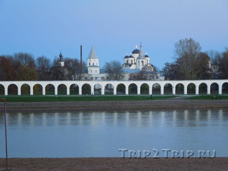 Ярославово Дворище с Аркадой, Великий Новгород