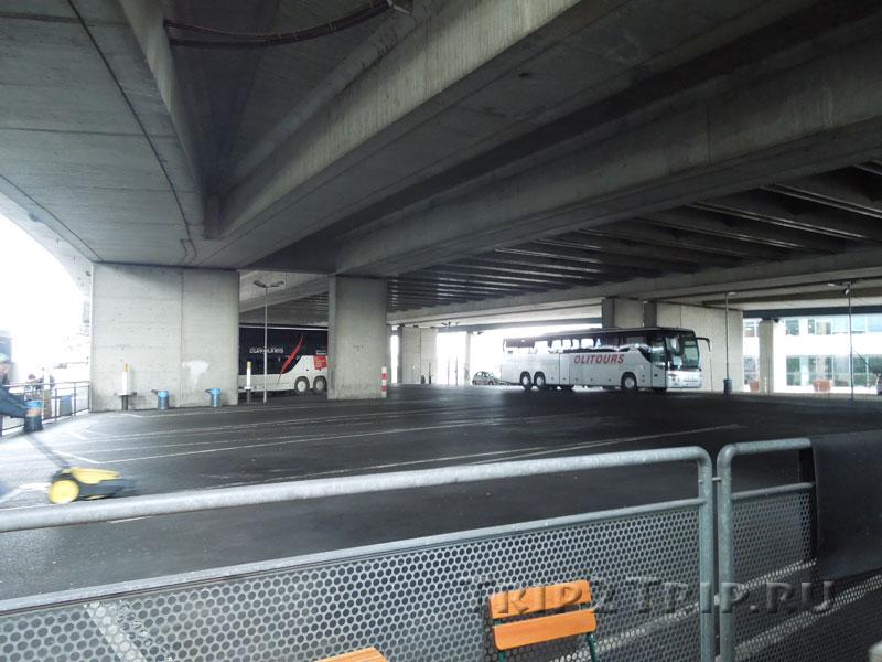 Автовокзал, Вена