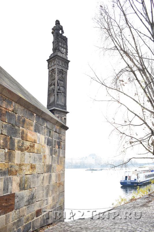 Брунцвик с Кампы, Прага