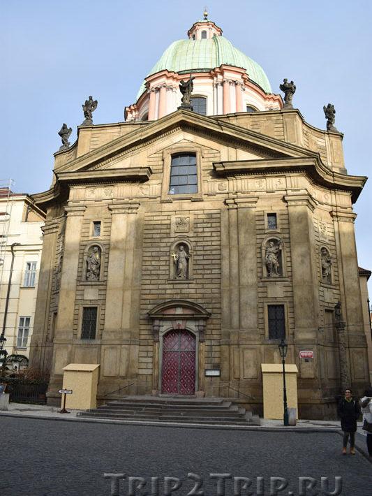 Церковь св. Франциска, Прага