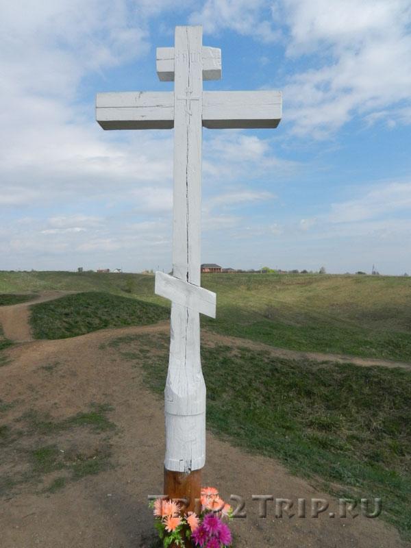 Крест на верху Александровой (Ярилиной) Горы, Переславль-Залесский