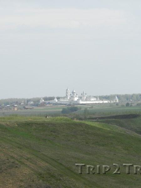 Вид на Никитский монастырь с Александровой горы, Переславль-Залесский