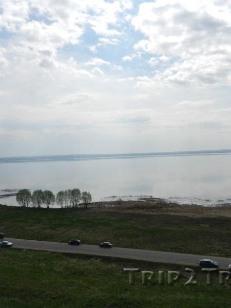 Вид на Плещеево озеро с Александровой горы, Переславль-Залесский