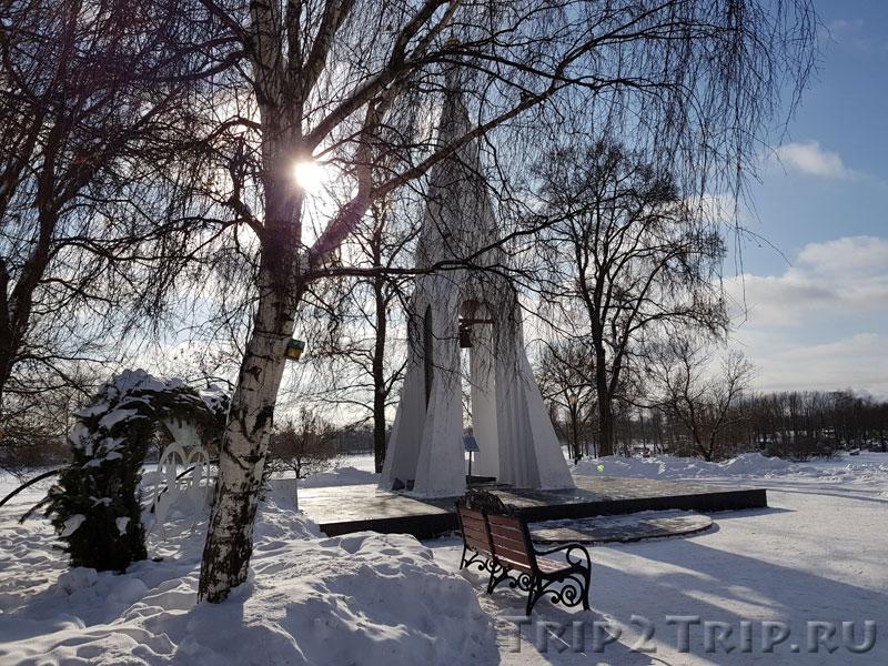 Зимнее фото часовни Казанской Богоматери