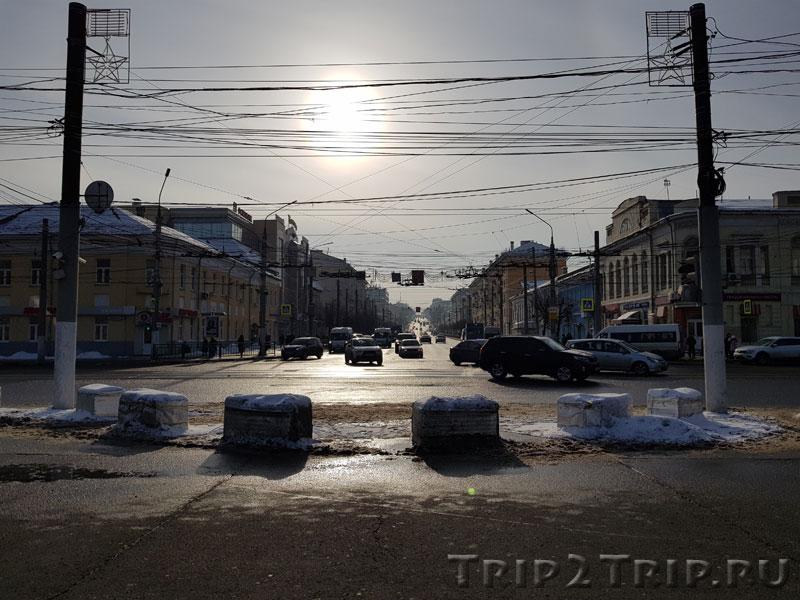 Перспектива на проспект Ленина в Туле