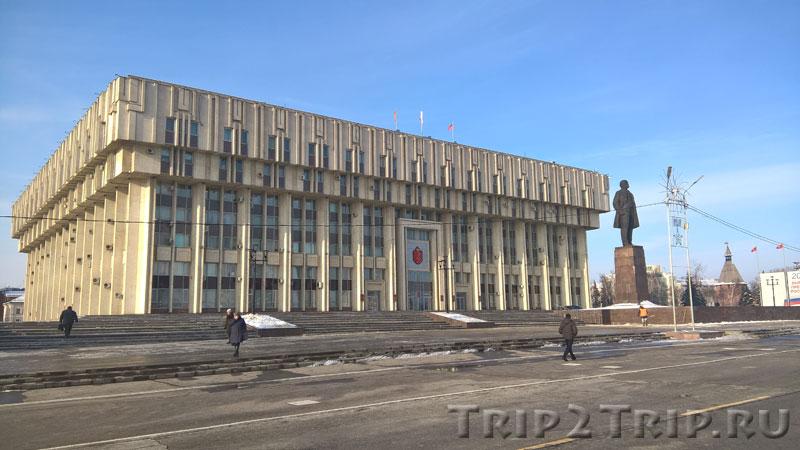 Администрация Тулы на площади Ленина