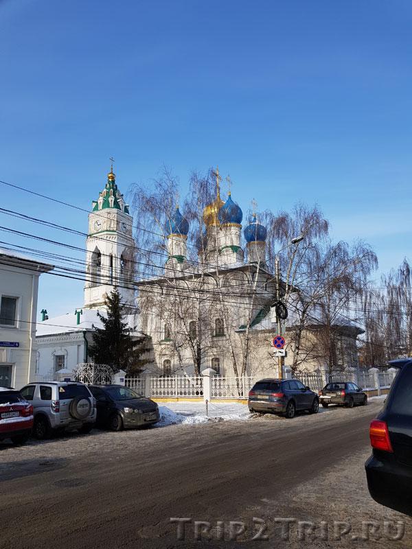 Покровская церковь, улица Металлистов, Тула