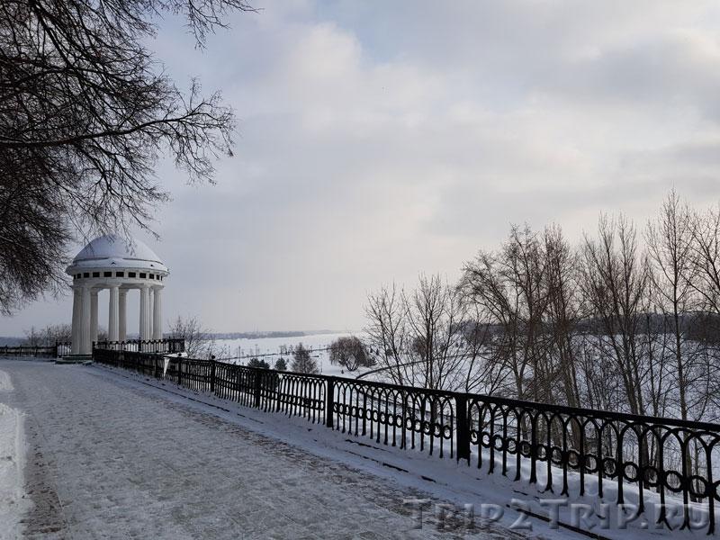 Которосльная набережная в Ярославле