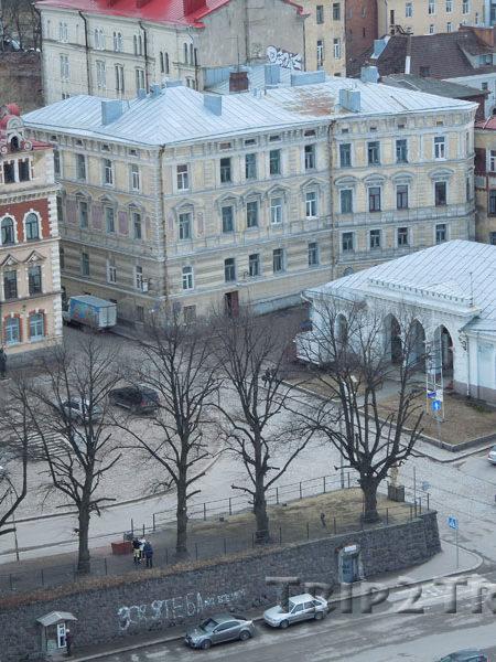 Панорама на Ратушную площадь, Выборг