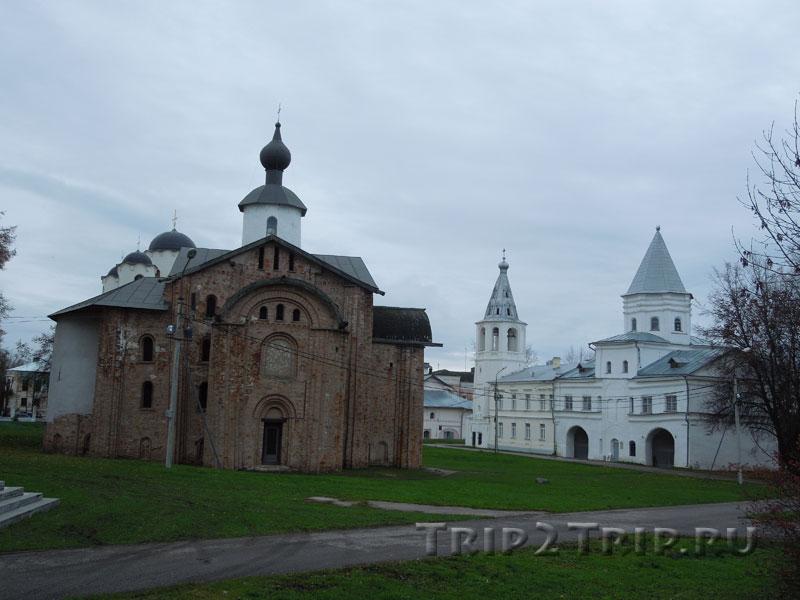 Церковь Параскевы Пятницы и Колокольня, Ярославово Дворище, Великий Новгород