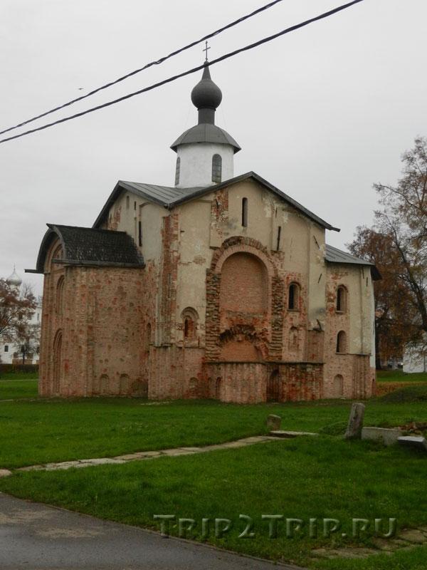 Церковь Параскевы Пятницы, Ярославово Дворище, Великий Новгород