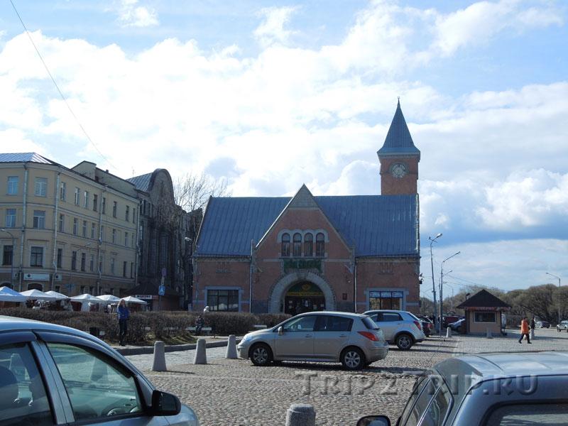 Здание рынка, Рыночная площадь, Выборг
