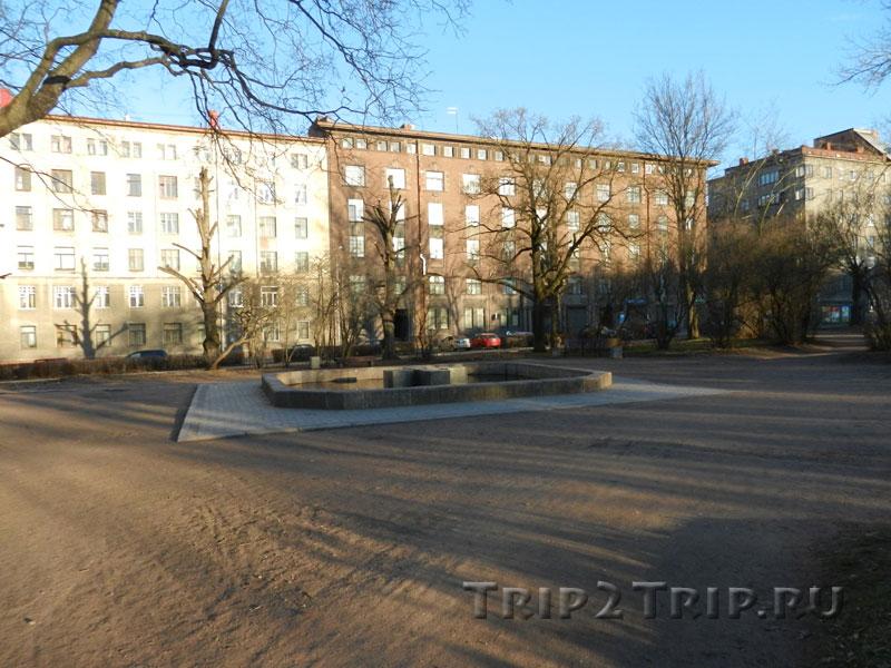 Площадь, где находился Кафедральный собор, Выборг