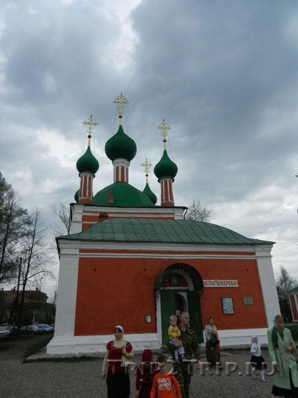 Церковь Александра Невского на Красной площади в Переславле