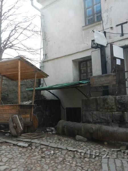 Внутренний дворик Выборгской крепости