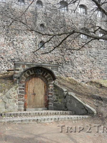 Крепостная стена, Выборгский замок