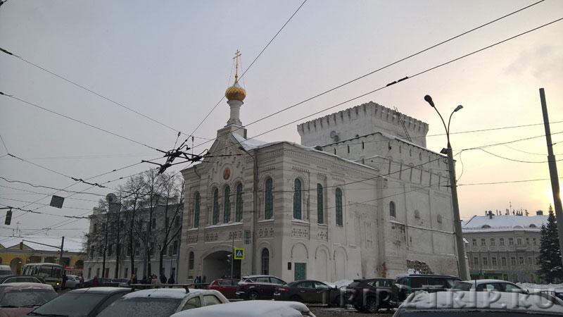 Фото знаменской башни в Ярославле