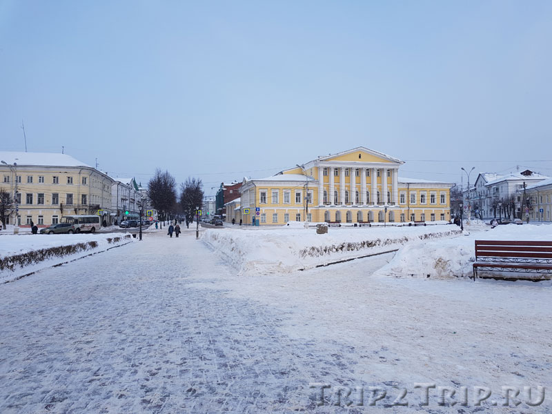 Дом Борщова, Сусанинская площадь, Кострома
