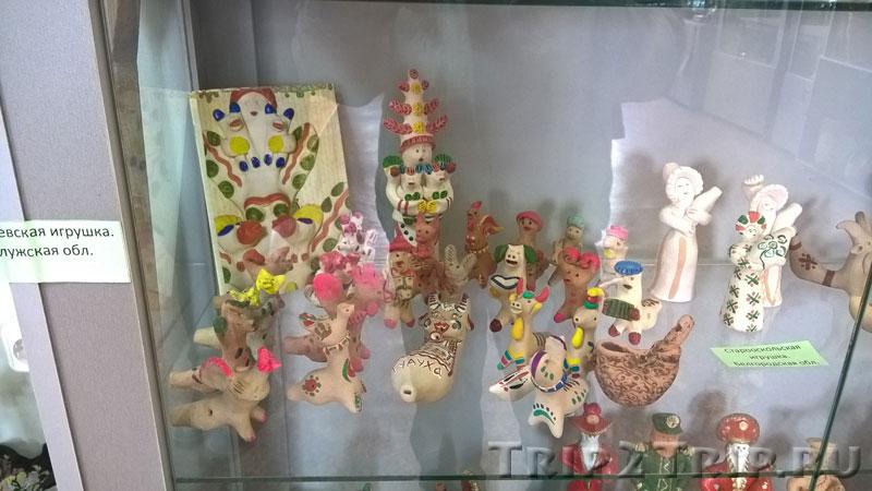 Хлудневская игрушка, музей петровской игрушки, Кострома