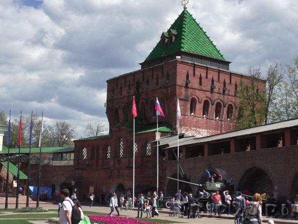 Дмитриевская башня, кремль, Нижний Новгород