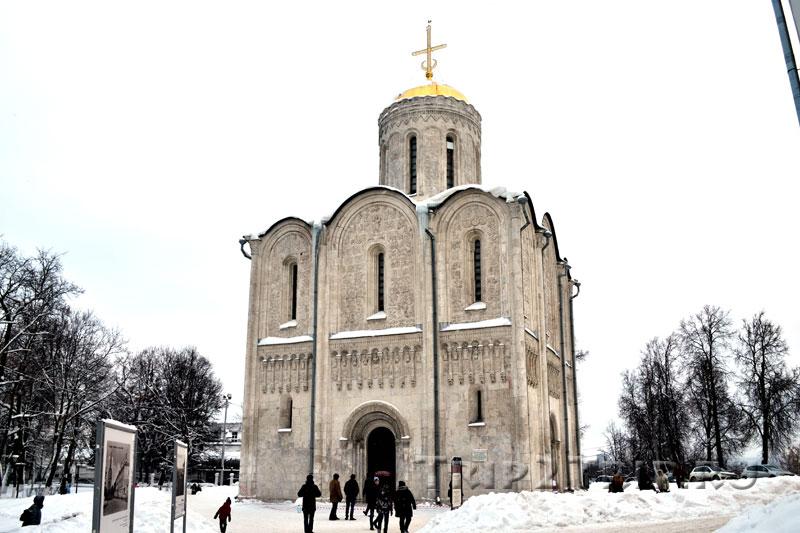 Церковь в честь Димитрия Солунского во Владимире