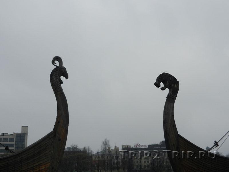 Драккары, Залив Большой Ковш (Салакка-Лахти), Выборг