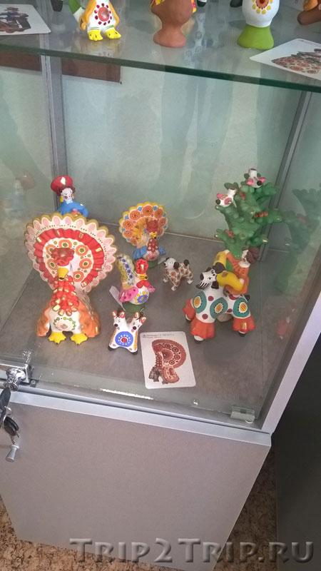 Дымковская игрушка, музей петровской игрушки, Кострома