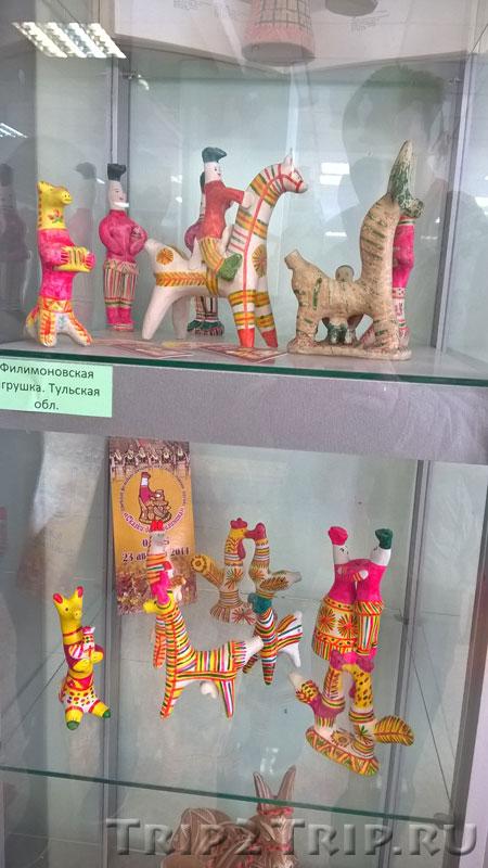 Филимоновская игрушка, музей петровской игрушки, Кострома