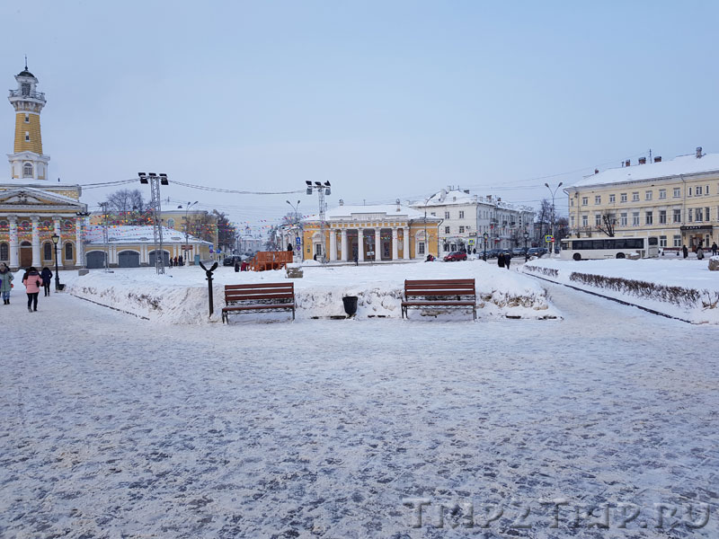 Гауптвахта, Сусанинская площадь, Кострома